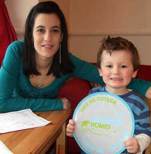 The Shackley home becomes SmokeFree.